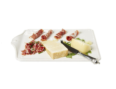 Whitewash Cheese Board and Knife Set