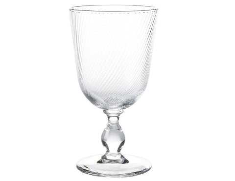 Clear Footed Goblet