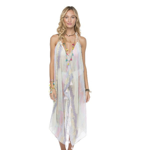 Maxi Tassel Dress in Sweet Sunrise
