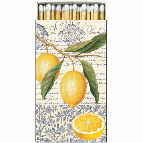 Citron Decorative Matches