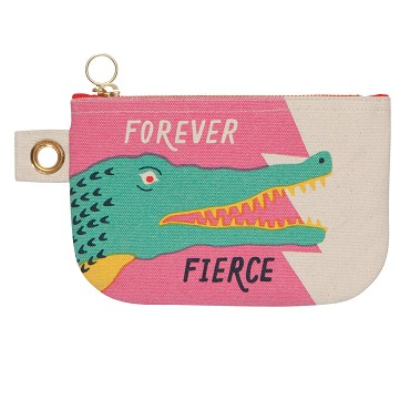 Forever Fierce Zip Pouch