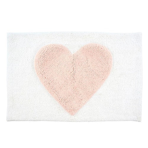 Pink Heart - Bath Mat
