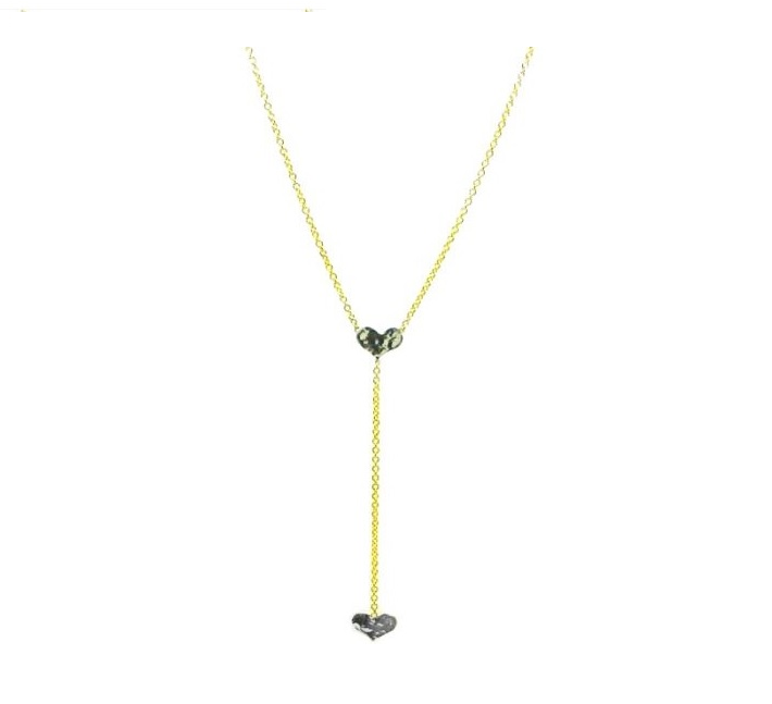 Double Heart Lariat