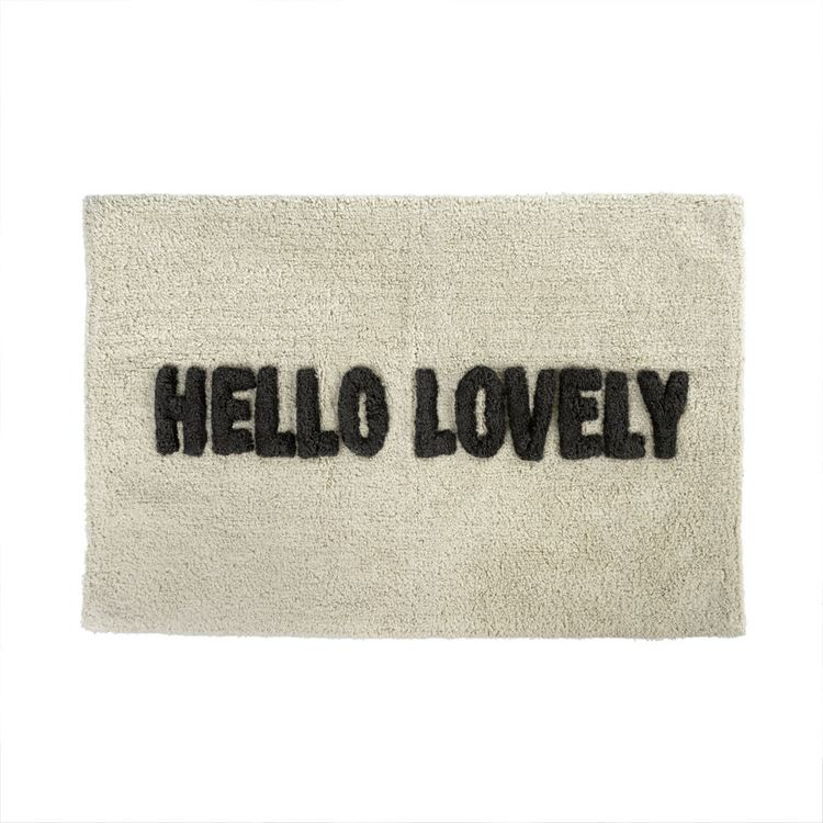 Hello Lovely - Bath Mat