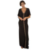 Pima Abaya Dress Black