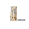 Laguiole Platine Cheese Set in Wood Box