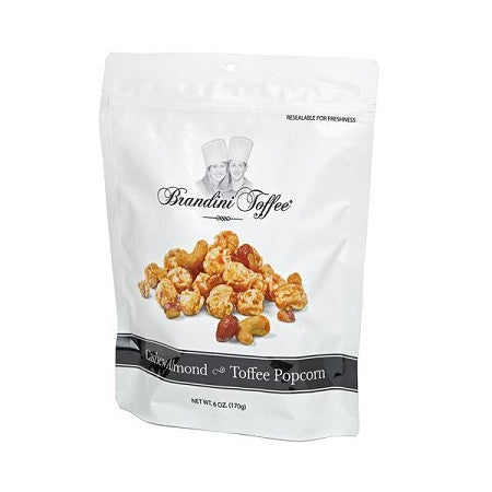 Cashew Almond Toffee Popcorn Bag