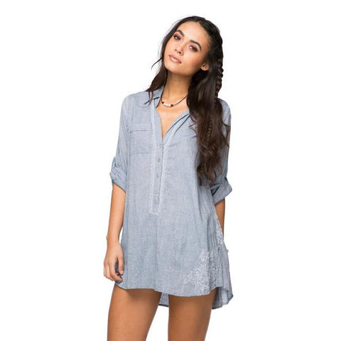 Boyfriend Shirt in Denim