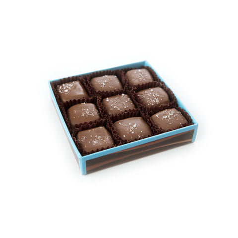 DeBrand Milk Chocolate Caramels with Sea Salt