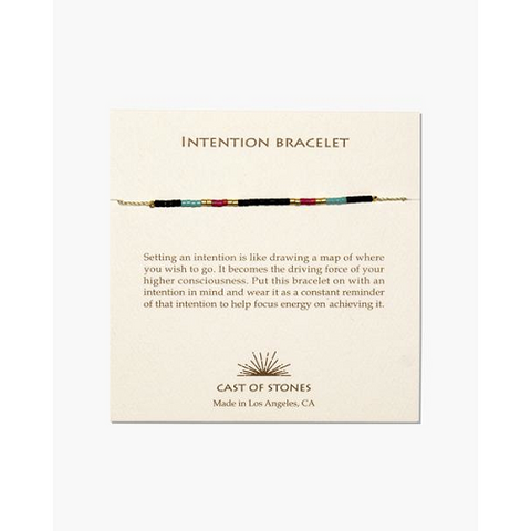 Multi Color Intention Bracelet