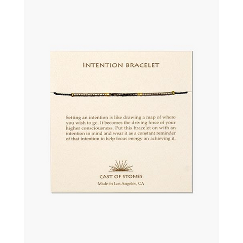 Neutral Gold Intention Bracelet
