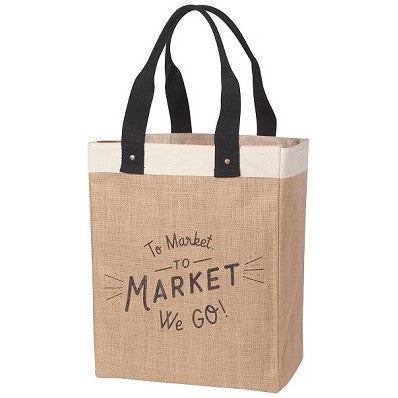 Market Tote to Market We Go
