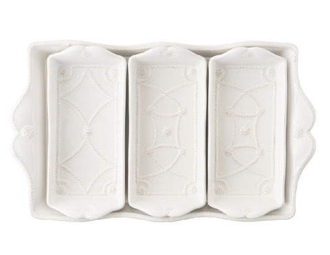 Whitewash Villandry Triple Server