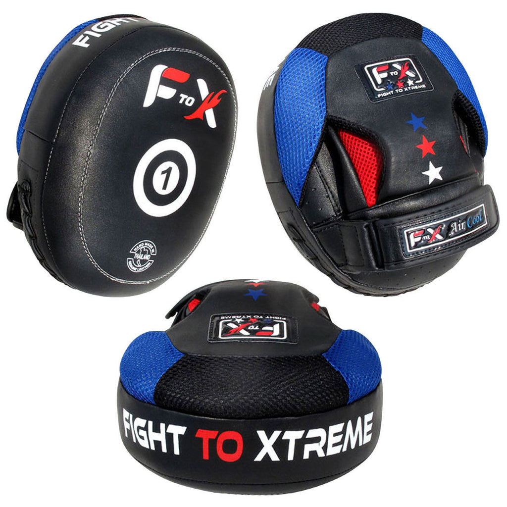 Sporteq® Kickboxing Focus Pads Hook /& Jab Mitts Punching Gloves Set MMA Training