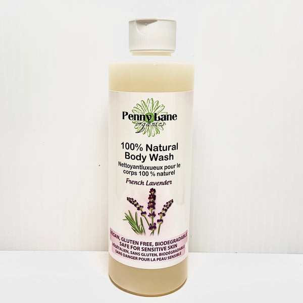 Luxurious Body Wash - FRENCH LAVENDER-Penny Lane Organics
