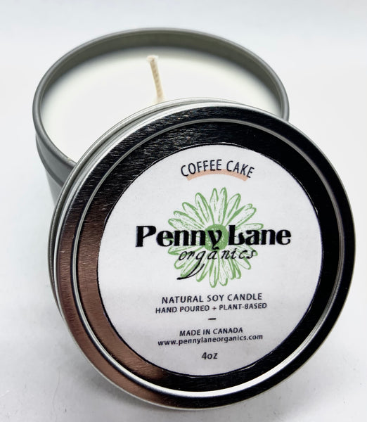 Coffee Cake & Spice Candle-Penny Lane Organics