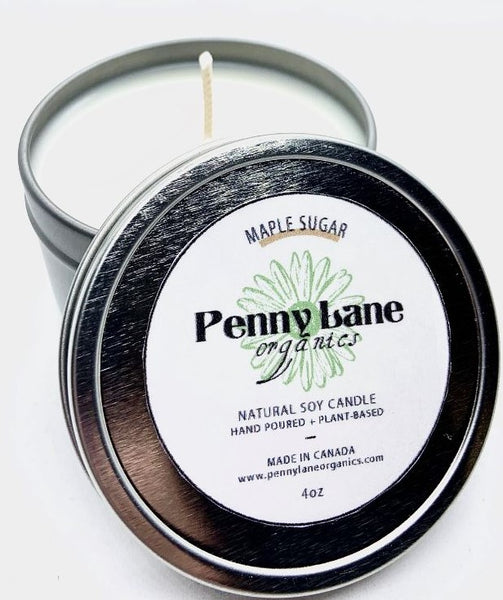 Maple Sugar Candle-Penny Lane Organics