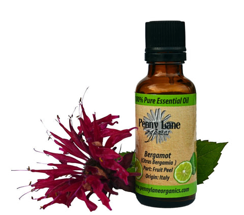 Bergamot Essential Oil 30 Ml-Penny Lane Organics
