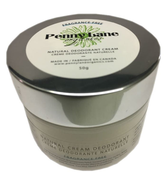 Natural Deodorant Cream - Patchouli Sandalwood-Penny Lane Organics