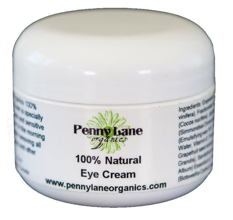 100% Natural Eye Cream-Penny Lane Organics