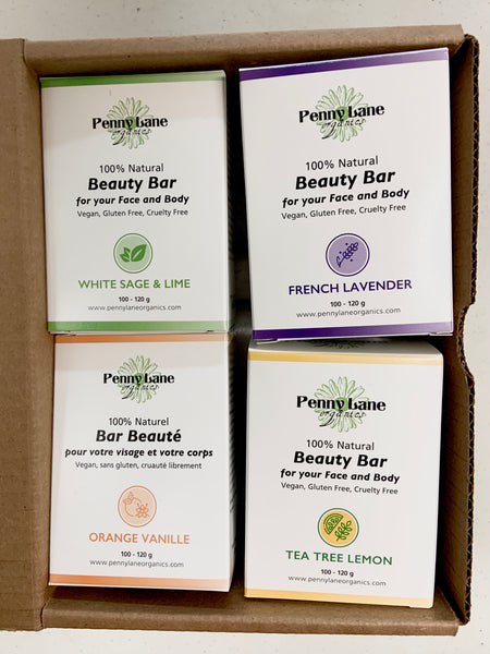Beauty Bar Set-Penny Lane Organics