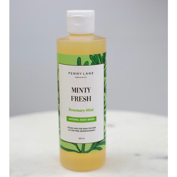 Luxurious Body Wash - MINTY FRESH-Penny Lane Organics
