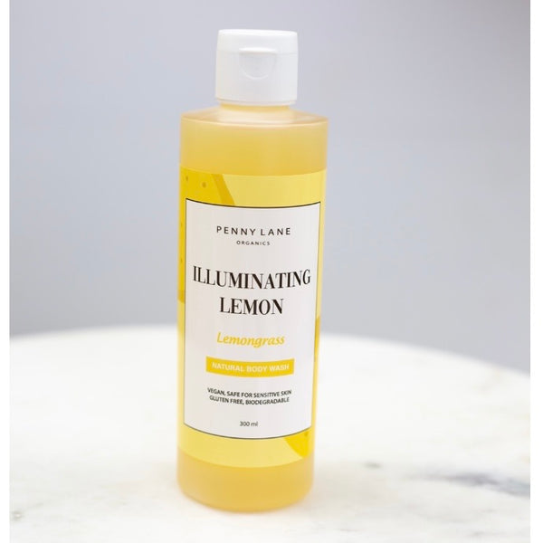 Luxurious Body Wash - ILLUMINATING LEMON-Penny Lane Organics