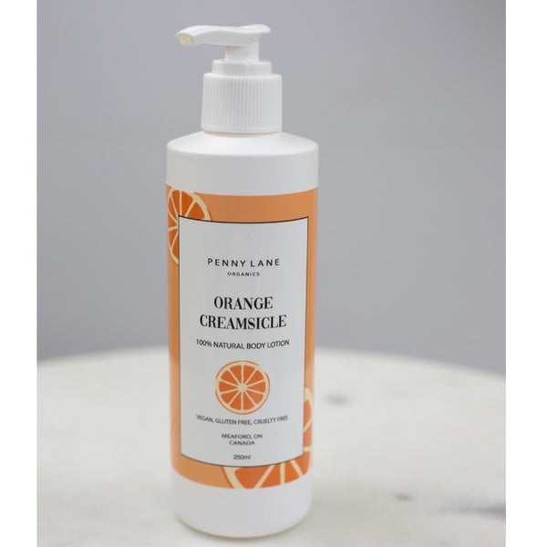 Hand and Body lotion - ORANGE CREAMSICLE-Penny Lane Organics