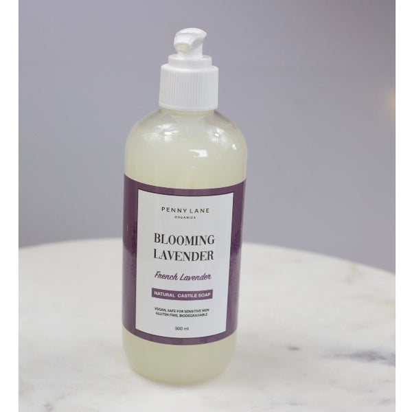 Natural Liquid Soap - BLOOMING LAVENDER-Penny Lane Organics