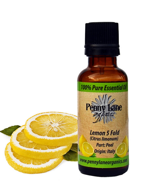 Lemon 5 Fold Essential Oil 30 ml-Penny Lane Organics