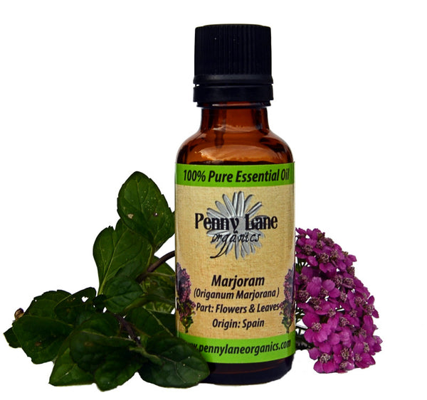 Marjoram (Sweet) Essential Oil 30 Ml-Penny Lane Organics