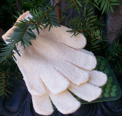 Exfoliating Bath Gloves-Penny Lane Organics