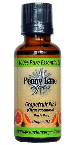 Grapefruit Pink Essential Oil 30 ML-Penny Lane Organics
