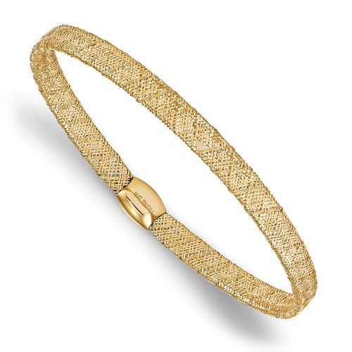Yellow Gold Mesh Bracelet