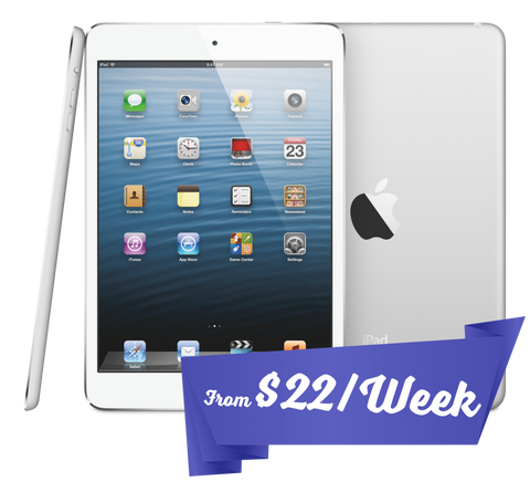 White Apple iPad tablet with Wifi only