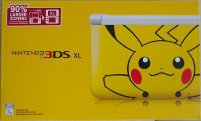 Nintendo 3DS XL Pokemon Pikachu Yellow Edition System Console