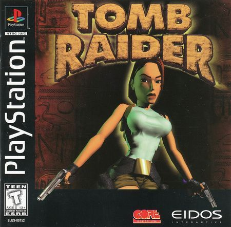 Tomb Raider Black Label Sony Playstation 1 PS1