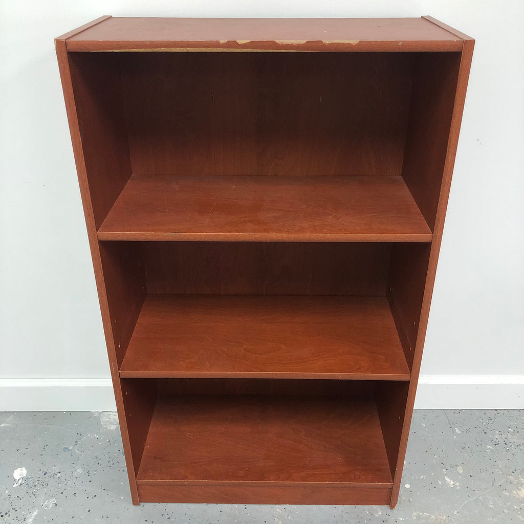 "41.5"" Repliacated Wood 1 Adjustable 2 Shelf Bookcase"