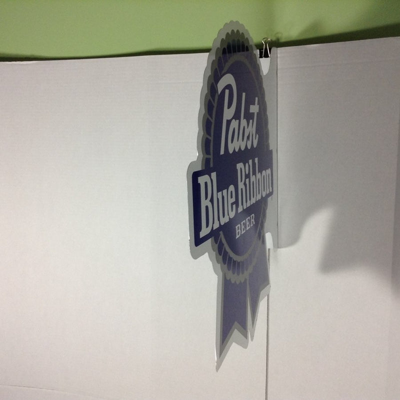 Pabst Blue Ribbon Beer PBR Metal Sign