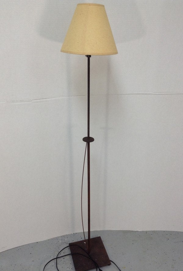 "52"" Wrought Iron Skinny Floor Lamp"