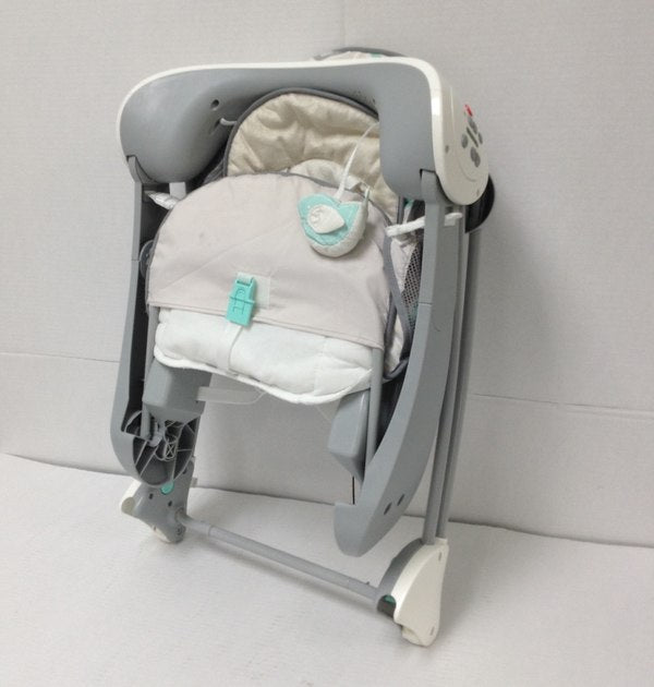 Fisher Price Deluxe Portable Take Along Automatic Baby Rocker Swing Seat