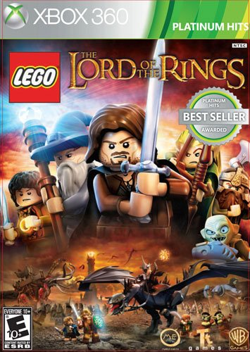 Lego The Lord Of The Rings Platinum Hits Microsoft Xbox 360
