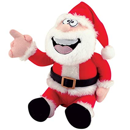 Pull My Finger Santa Farting Holiday Toy Gag Gift