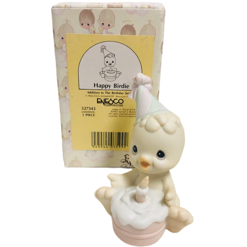 "Precious Moments Happy Birdie Birthday Series 3"" Figurine 527343"