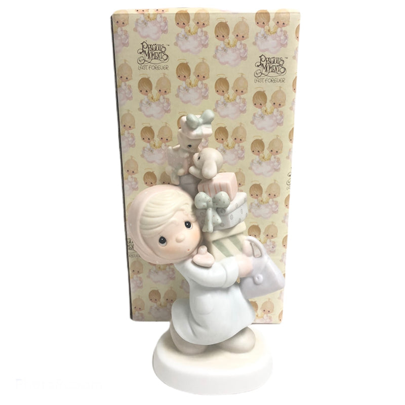 "Precious Moments Bundles Of Joy 6.5"" Figurine E-2374"