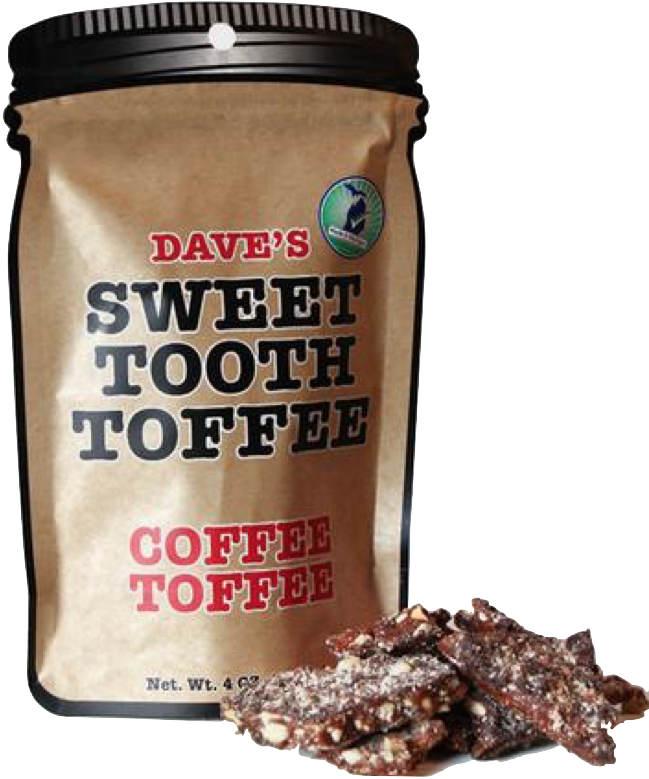 Dave's Sweet Tooth Coffee Toffee Pouch