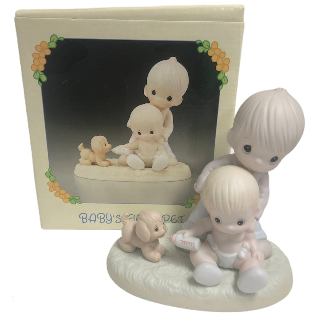Precious Moments Babys First Pet Figurine 520705