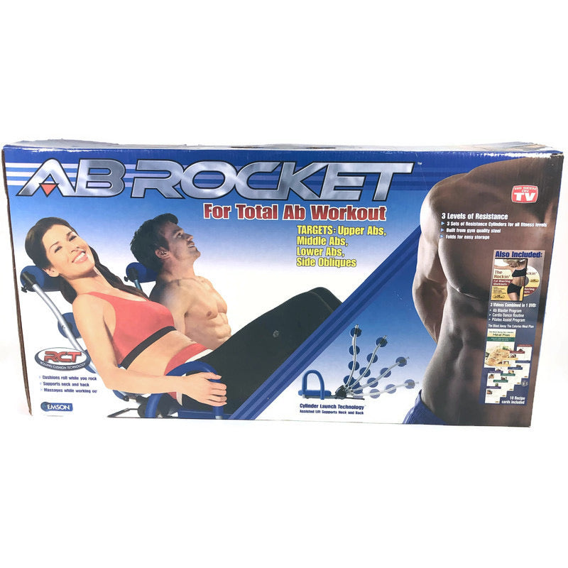 Ab Rocket As Seen On TV Core Exercise Workout Rocking Cushion Chair