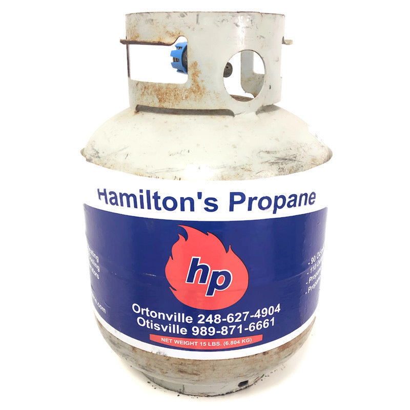 15 Lb. Pound Propane Tank Exchange