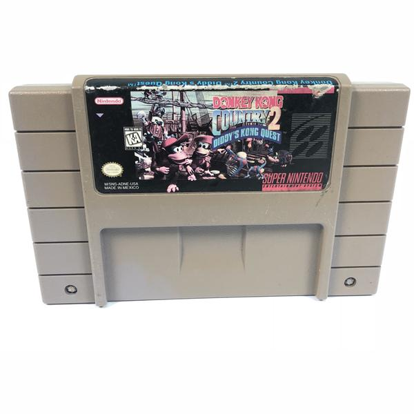 Donkey Kong Country 2 Diddys Kong Quest Super Nintendo Entertainment System SNES